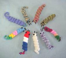 Crocheted Worms